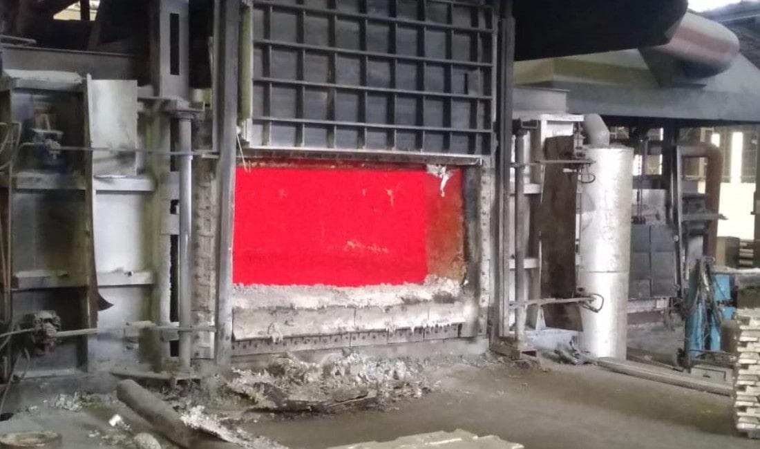 Endüstriyel Fırın Alüminyum Eğritme Fırını Ecosan Makina Gebze